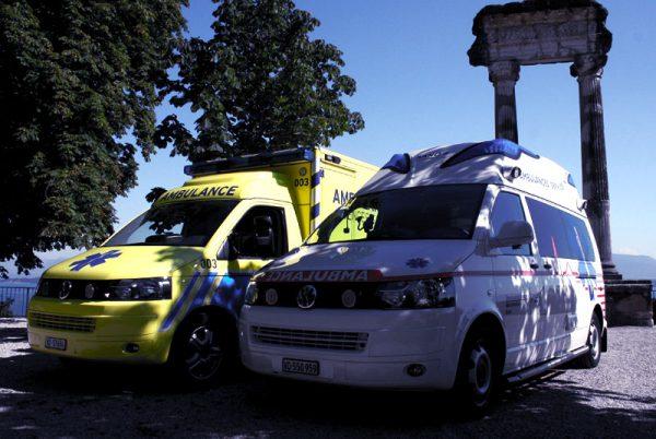 Ambulances Nyon Genève Lausanne
